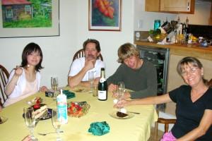 Maui Summer Seminar でのホームパーティ